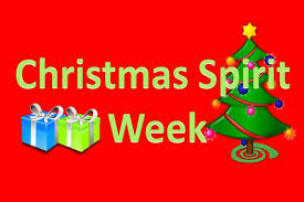 Christmas Spirit Week – Mark Your Calendars
