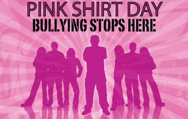 Anti Bullying Initiative – Wear Pink on February 28th to Take a Stand Against Bullying
