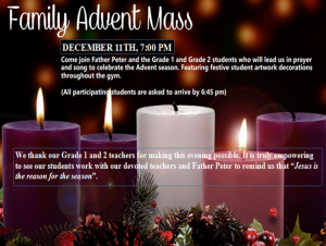 Family Advent Mass