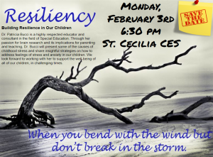 Building Resilience in Our Children – Parent Presentation