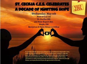 SCA Preparing to Celebrate 10 Year Anniversary – Postponed